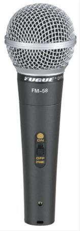 111 - Fugue FM-58 Mikrofon Kablolu Dinamik Tek Yönlü 600 OHM