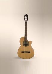 Alhambra - Alhambra Mod 3C-CT-E1 Cutaway Elektro Klasik Gitar