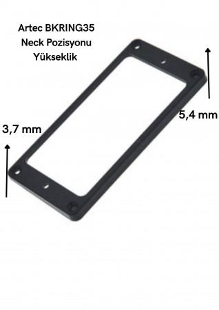Artec BKRING35 Sap (Neck) Humbucker Siyah Manyetik Çerçevesi - Thumbnail