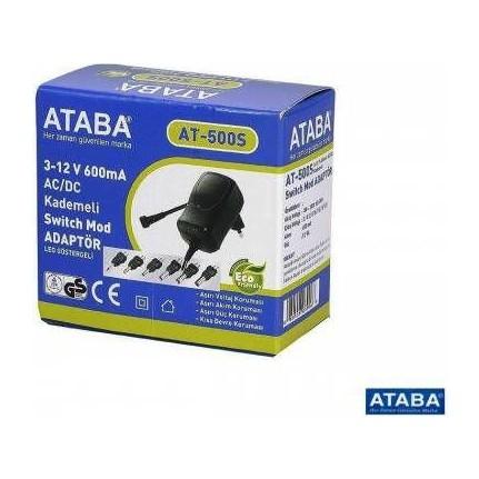 Ataba - Ataba 12Volt 500mA Ayarlı Pedal Adaptörü