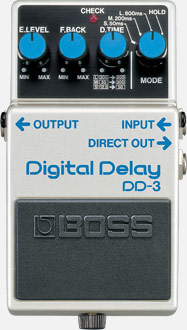 Boss - Boss DD-3 Digital Delay Pedalı