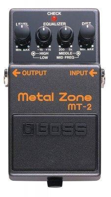 Boss Mt-2 Metal Zone Distortion Pedalı