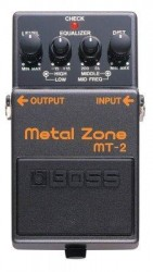 Boss - Metal Zone Compact Pedal