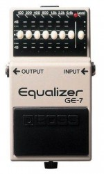 Boss GE-7(T) Ekolayzer Kompakt Pedal - Thumbnail