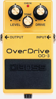 Boss OD-3 OverDrive Pedalı