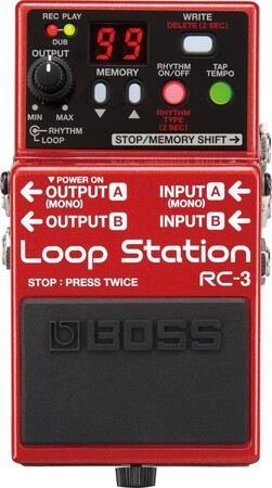 Boss - Boss RC-3 Loop Station-Looper Pedalı
