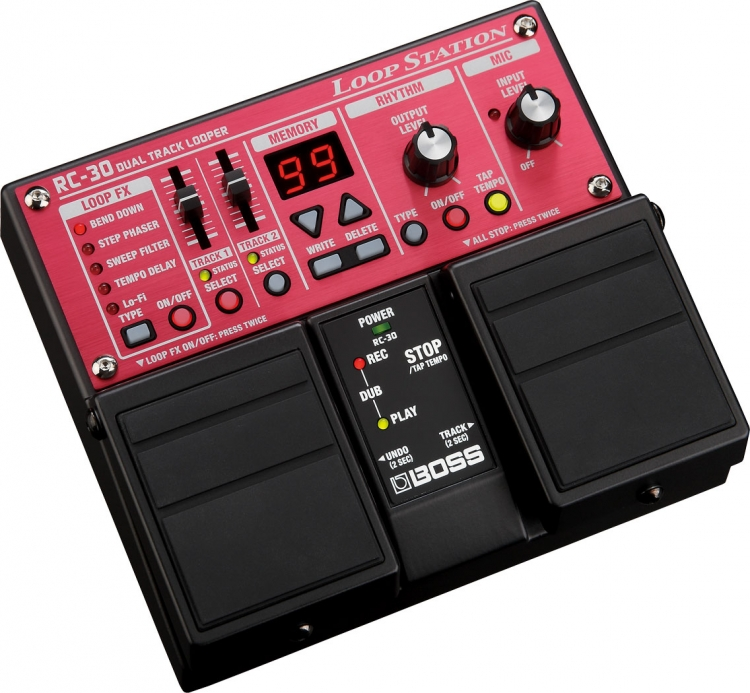 Boss RC-30 Loop Station Gitar Pedalı