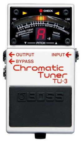 Boss - Boss TU-3 Chromatic Pedal Tuner (Bas & Elektro Gitar İçin)