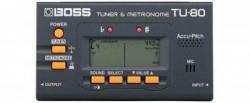 Boss - Boss TU-80 Tuner & Metronom LCD