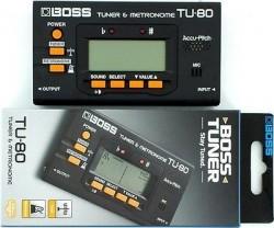 Boss TU-80 Tuner & Metronom LCD - Thumbnail