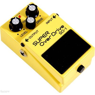 Boss SD-1 Super OverDrive Compact Peda