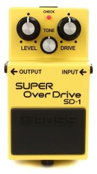 Boss SD-1 Super OverDrive Compact Peda - Thumbnail