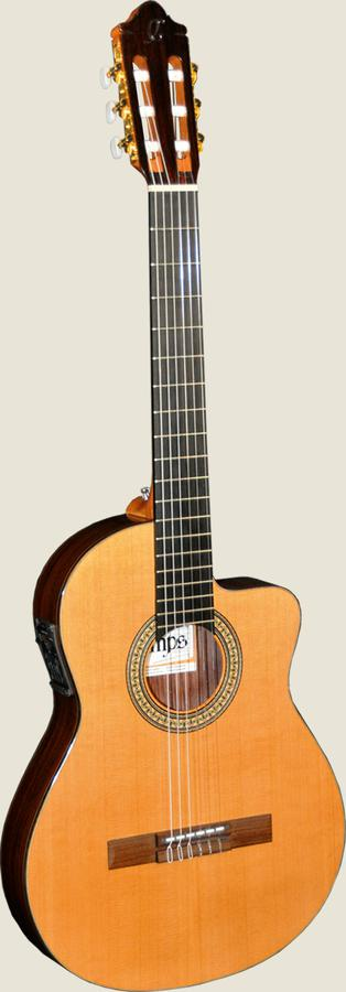 Camps NAC2-C Sedir İnce Kasa Elektro Klasik Gitar
