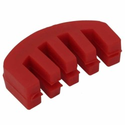 Carlovy CVMR Kırmızı Plastik Keman Susturucu