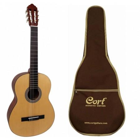 Cort - Cort AC100 O PW Ladin Kapak Klasik Gitar-Fiyat Performans