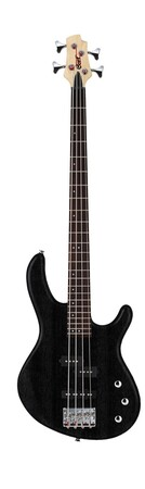 Cort - Cort Action Serisi AB4PJOPB Open Pore Black Bas Gitar