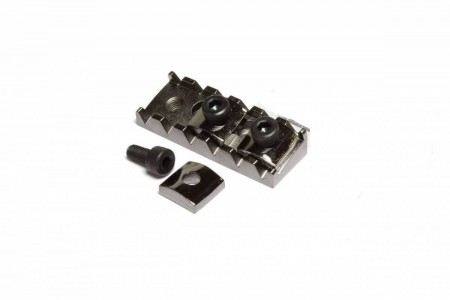 Cort - Cort Cosmo Black FloydRose Guitar Locking Nut