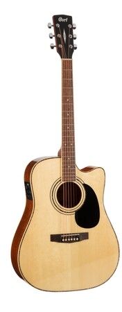 Cort - Cort Standard Serisi AD880CE-NAT Naturel Elektro Akustik Gitar