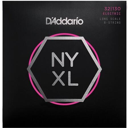 D-Addario - D'Addario NYXL32130 6 Telli Bas Gitar Tel Takımı Long Scale (32-130)