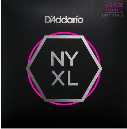 D-Addario - D'Addario NYXL45100 4 Telli Bas Gitar Tel Takımı Long Scale (45-105)
