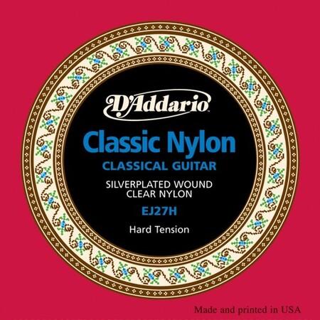 D'Addario Classic EJ27H-Hard Tansiyon Klasik Gitar Tel Takımı