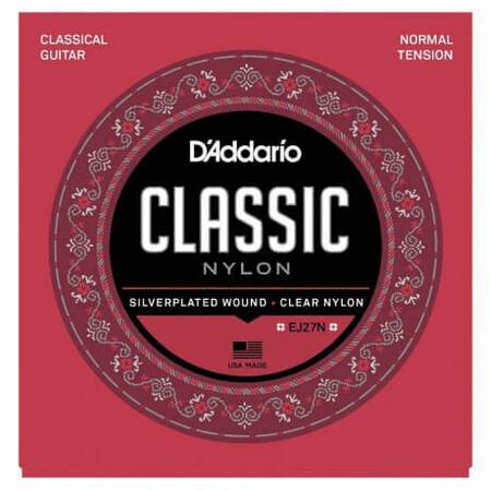 D-Addario - D'Addario EJ27N Normal Tansiyon Klasik Gitar Tel Takımı