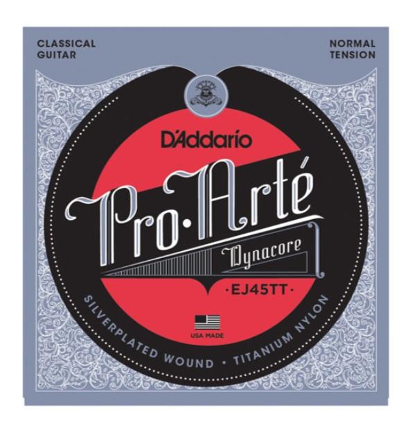 D-Addario EJ45TT Pro-Arte Tıtanıum Klasik Gitar Teli
