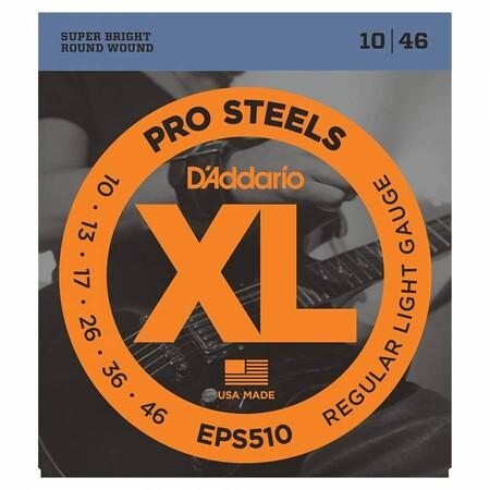 D-Addario - D'Addario EPS510 Pro Steels Elektro Gitar Teli (10-46)