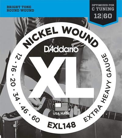 D-Addario - D'Addario EXL148 Extra Heavy Elektro Gitar Teli (12-60)