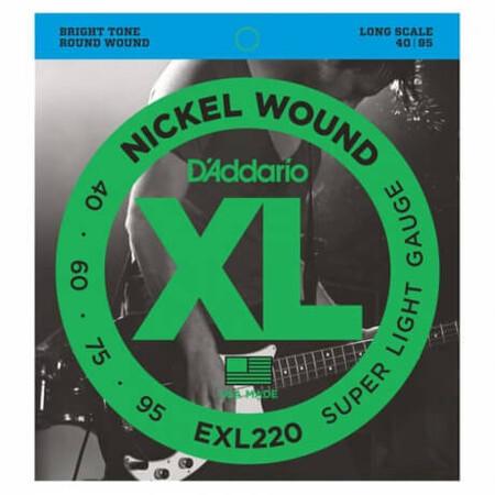 D-Addario - D'Addario EXL220 Long Scale Bas Gitar Teli (040-095)