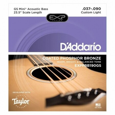 D-Addario - D'Addario EXPPBB190GS Akustik Bas Gitar Teli (037-090)