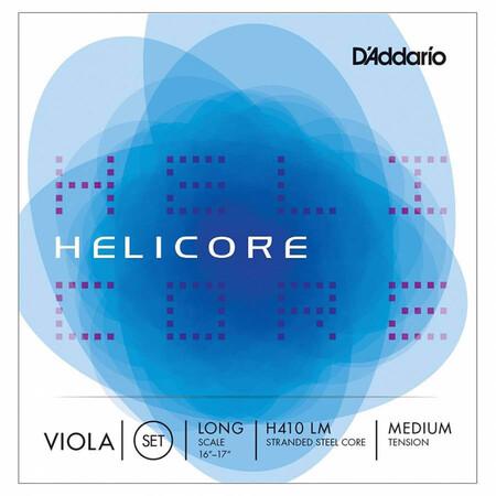 D'Addario Helicore H410 LM Viyola Tel Seti