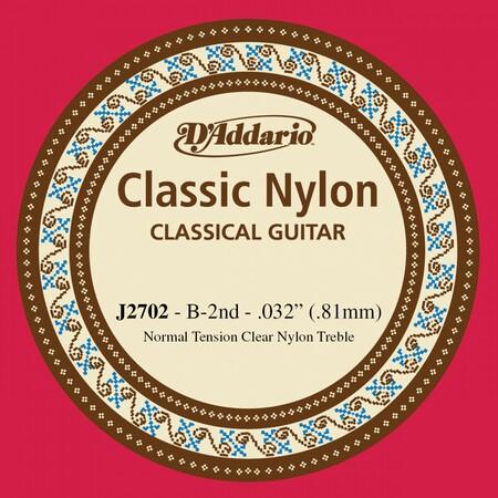 D'Addario J2702 Klasik Gitar Tek Si Teli