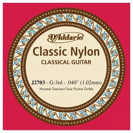 D-Addario - D'Addario J2703 Klasik Gitar Tek Sol Teli