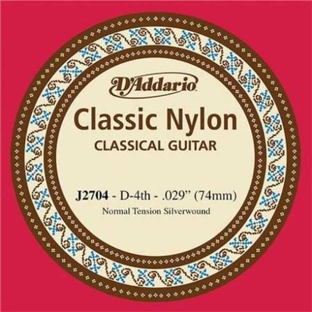D-Addario - D'Addario J2704 Klasik Gitar Tek Re Teli