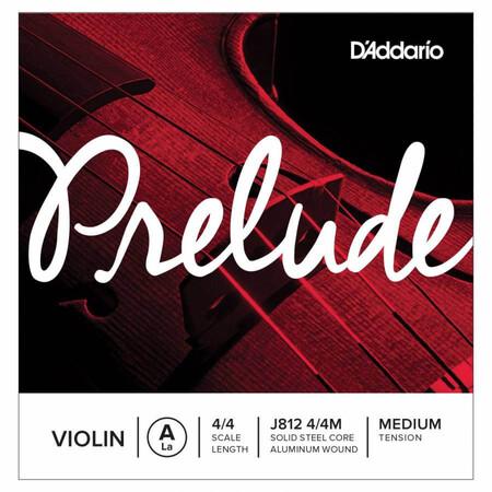 D-Addario - D′Addario Prelude J812 Medium 4/4 Keman Tek La (A) Teli