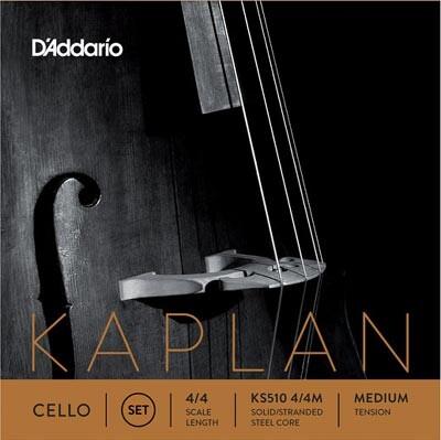 D-Addario - D'Addario Orkestral KS510 Kaplan 4/4 Medium Çello Tel Seti