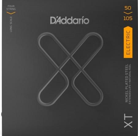 D-Addario - DAddario Medium / Long Scale-4 Telli 50-105 Bas Gitar Teli