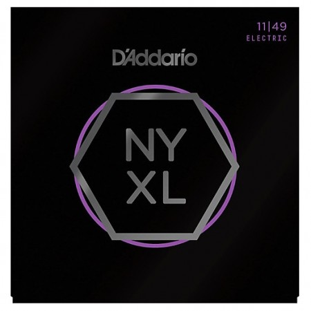 D-Addario - D'Addario NYXL1149 Nickel Wound 11-49 Medium Tension Elektro Gitar Takım Tel
