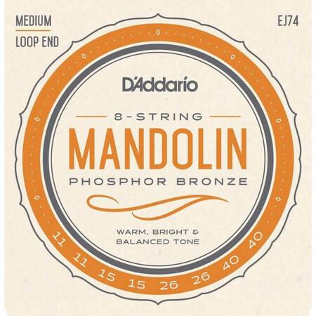 D-Addario - D'Addario Phosphor Bronze EJ74 Mandolin Teli