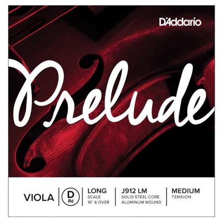 D'Addario Prelude J912 LM Viyola Tek Re (D) Teli