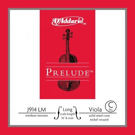 D'Addario Prelude J914 LM Viyola Tek Do (C) Teli - Thumbnail
