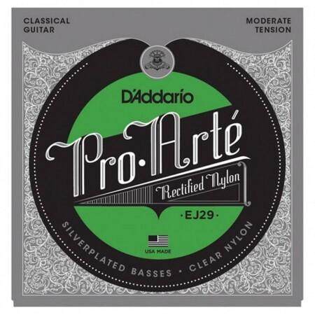 D'Addario Pro-Arte EJ29 Rectified Moderate Flemenko Tansiyon Klasik Gitar Teli - Thumbnail