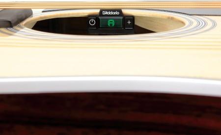 D-Addario - D'addario PW-CT-15 Micro Soundhole Tuner Akustik Gitar Ses Deliği Akort Aleti