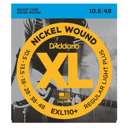 D-Addario - D'Addario XL110+ Regular Light Plus Elektro Gitar Tel Takımı (10,5-48)
