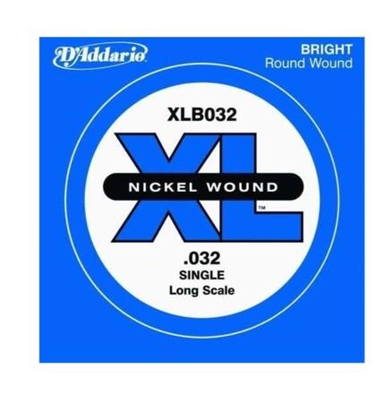 D'Addario XLB032 Tek Bas Gitar Teli (032)