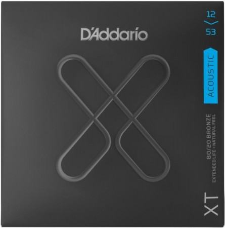 D-Addario - D'Addario XTABR12-53 Light Akustik Gitar Teli
