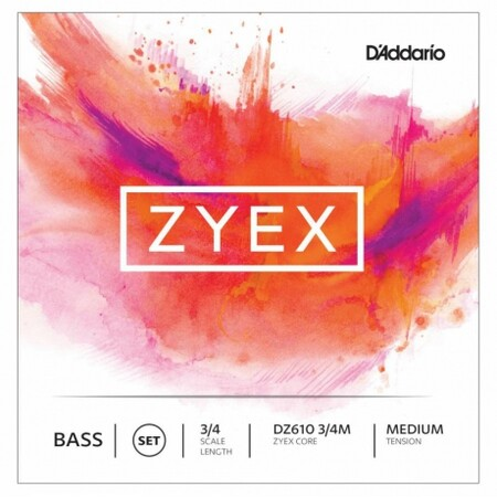 D-Addario Zyex DZ610 3/4M Kontrabas Teli