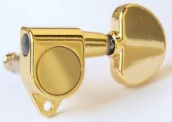 DerJung Grover Stil Gold 3+3 Akustik Gitar Burgu Takımı - Thumbnail