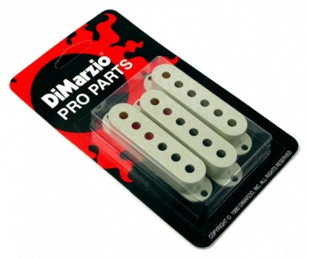 Dimarzio - DiMarzio DM2001MG Single Coil Pickup Covers Set of 3 MINT Green